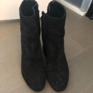 Great condition suede booties from Sam Edelman